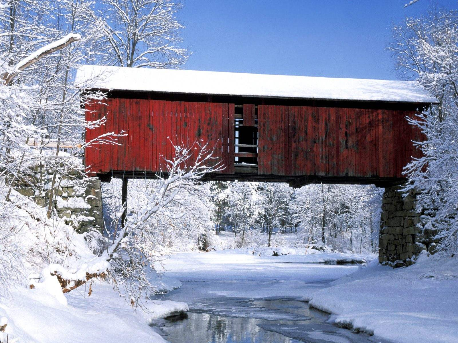 Image Rustic Bridge Wallpapers And Stock Photos