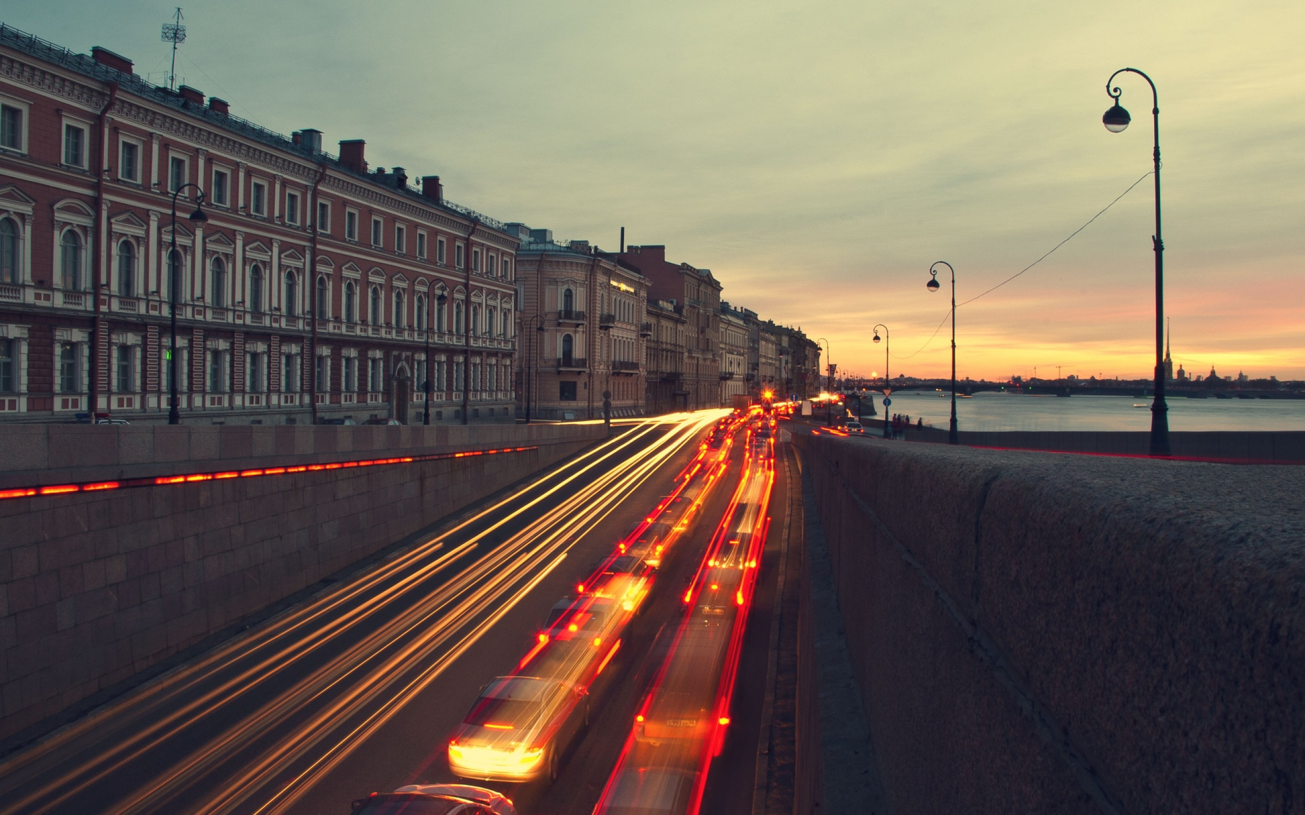 At sunset wallpapers saint petersburg at sunset stock photos
