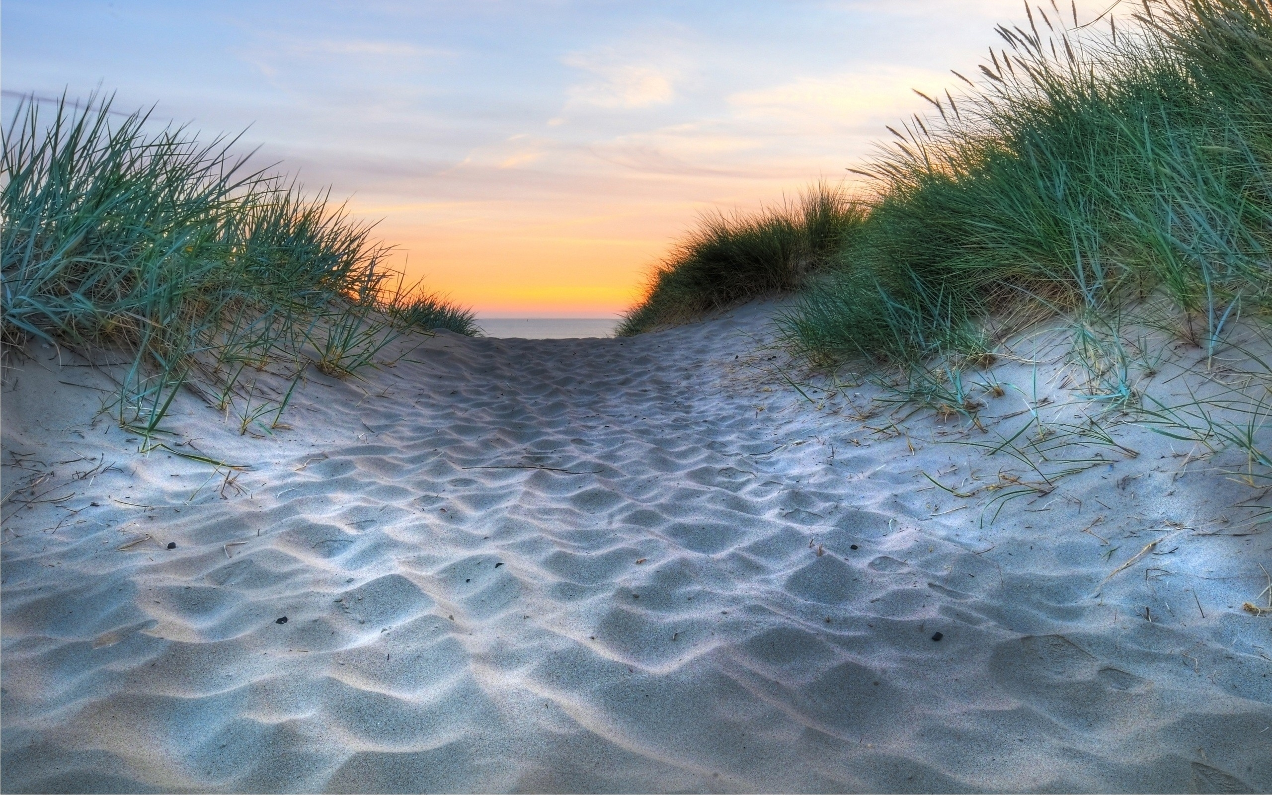 Sand Ocean Grass  Sunset Wallpapers  Sand Ocean Grass -2652