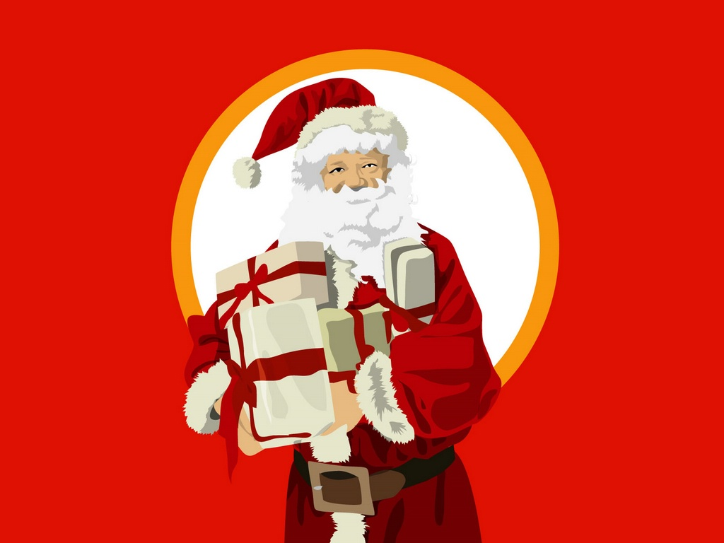 image santa claus in red wallpapers and stock photos - Santa Claus Red