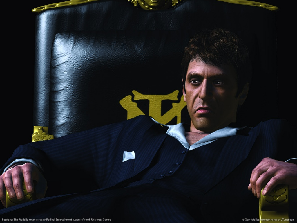 1024x768 Scarface - The World is Yours desktop PC and Mac ...