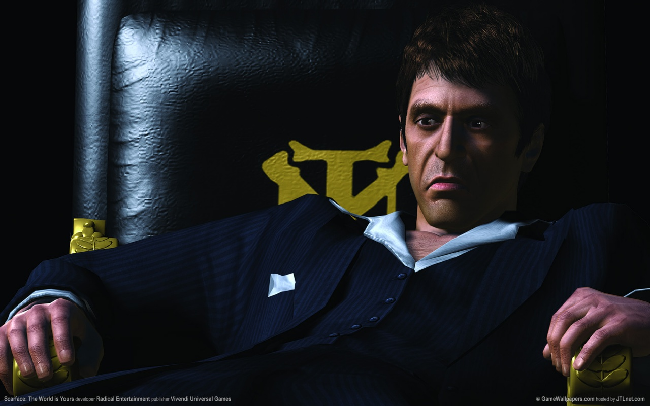 1280x800 Scarface - The World is Yours desktop PC and Mac wallpaper