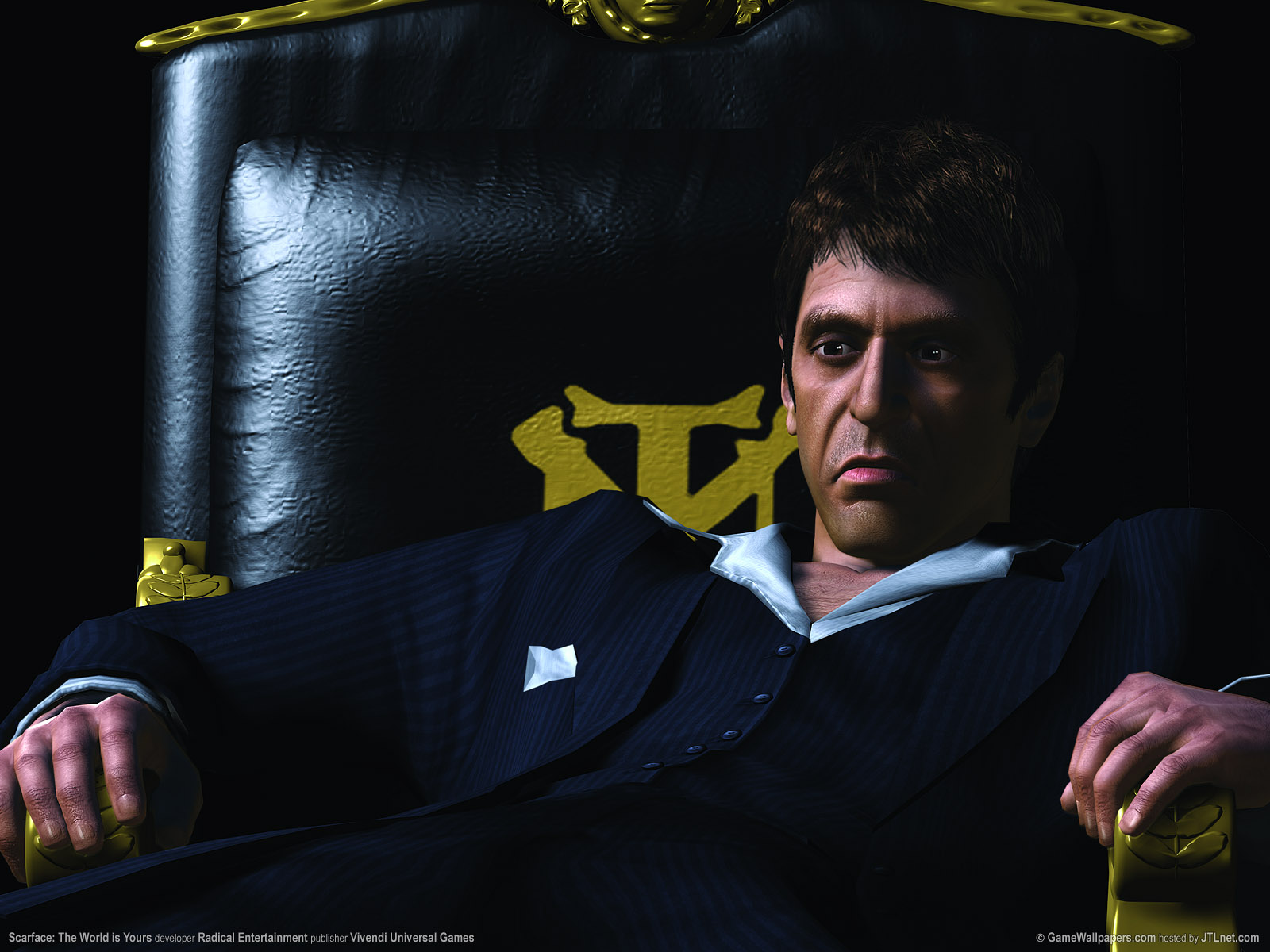1600x1200 scarface the world is yours desktop pc and mac wallpaper