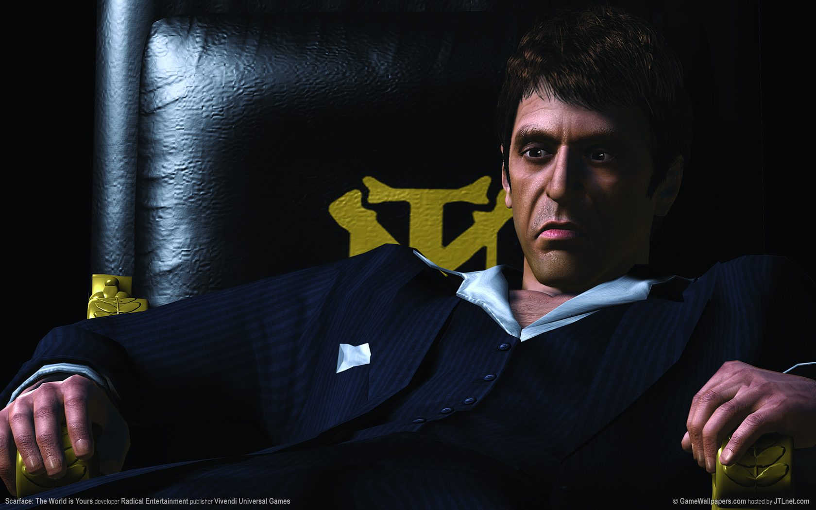 1680x1050 Scarface - The World is Yours desktop PC and Mac ...