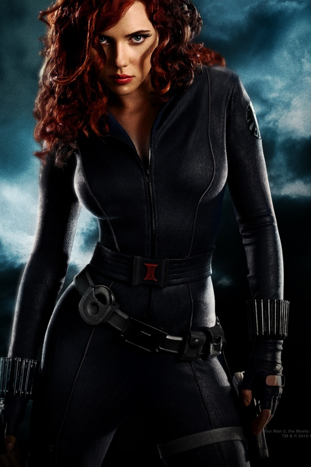 640x960 scarlett johansson iphone 4 wallpaper