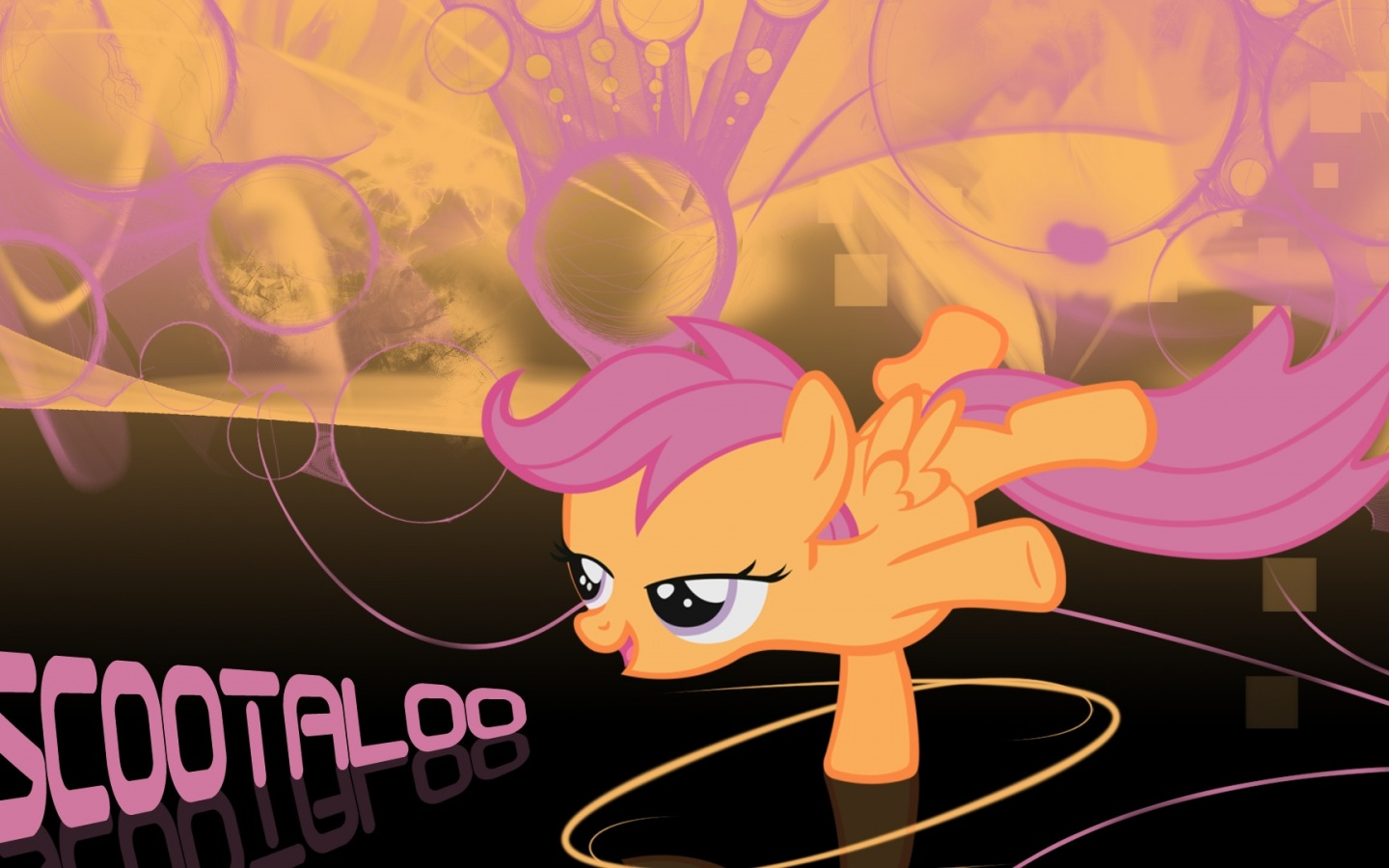 1440x900 Scootaloo, my little pony friendship is magic, mlp, cartoon, cartoons