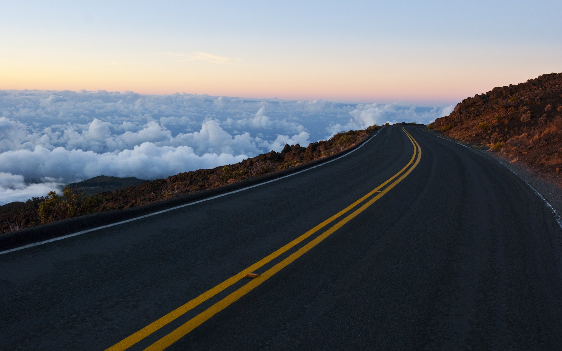 Sea Of Clouds Amp Road Wallpapers Sea Of Clouds Amp Road
