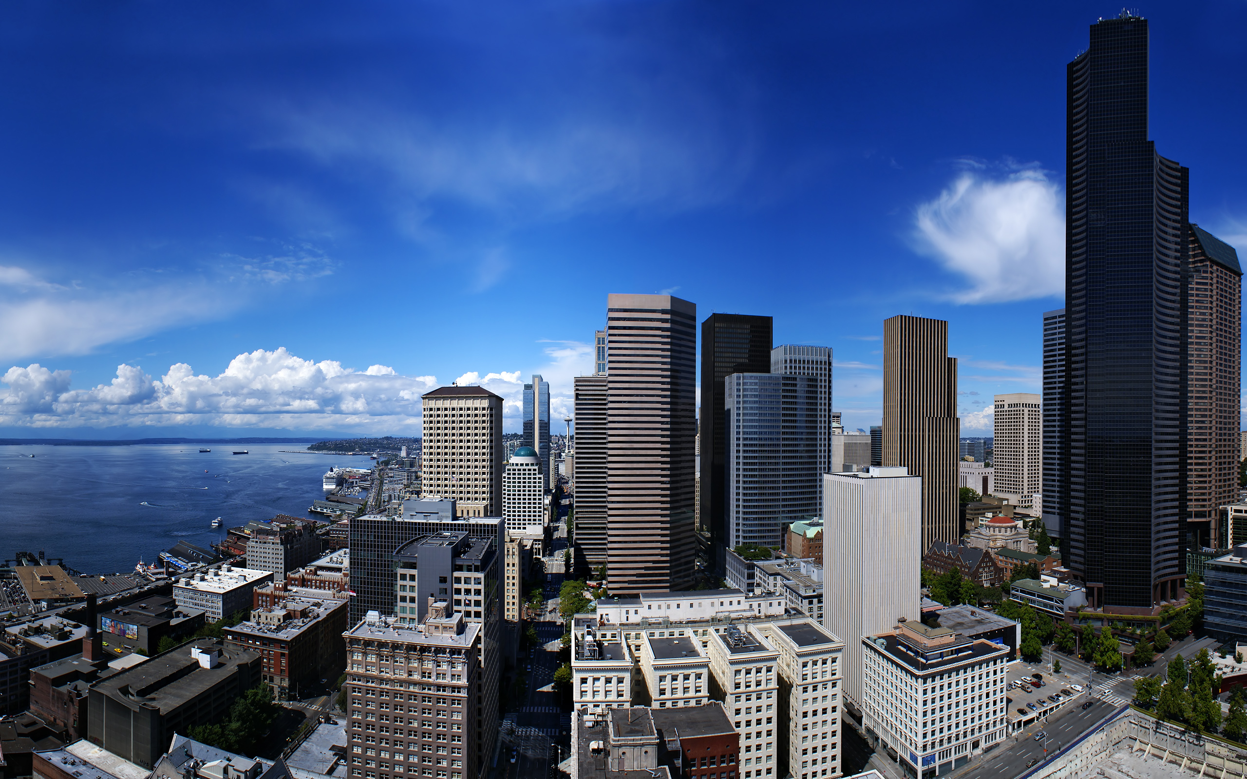 seattle town wallpapers 6904 2560x1600 Wallpapers 2560x1600