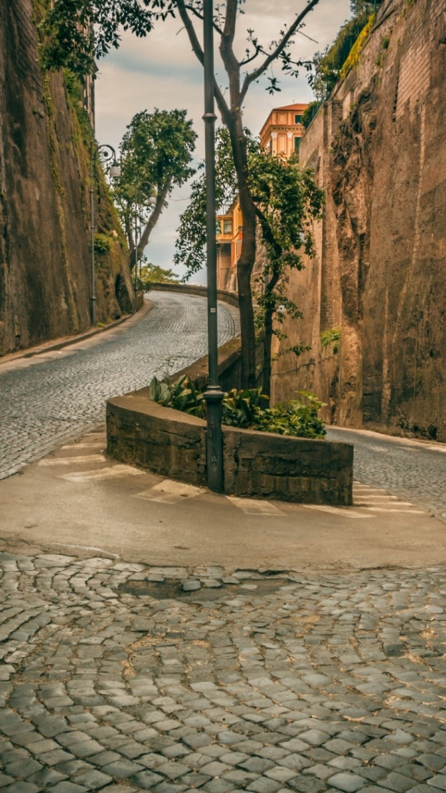 640x1136 serpentine pavement wall natur iphone 5 wallpaper for Wallpaper mobile home walls