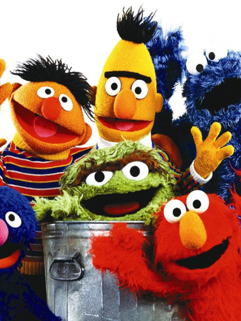 768x1024 Sesame Street One Desktop Pc And Mac Wallpaper