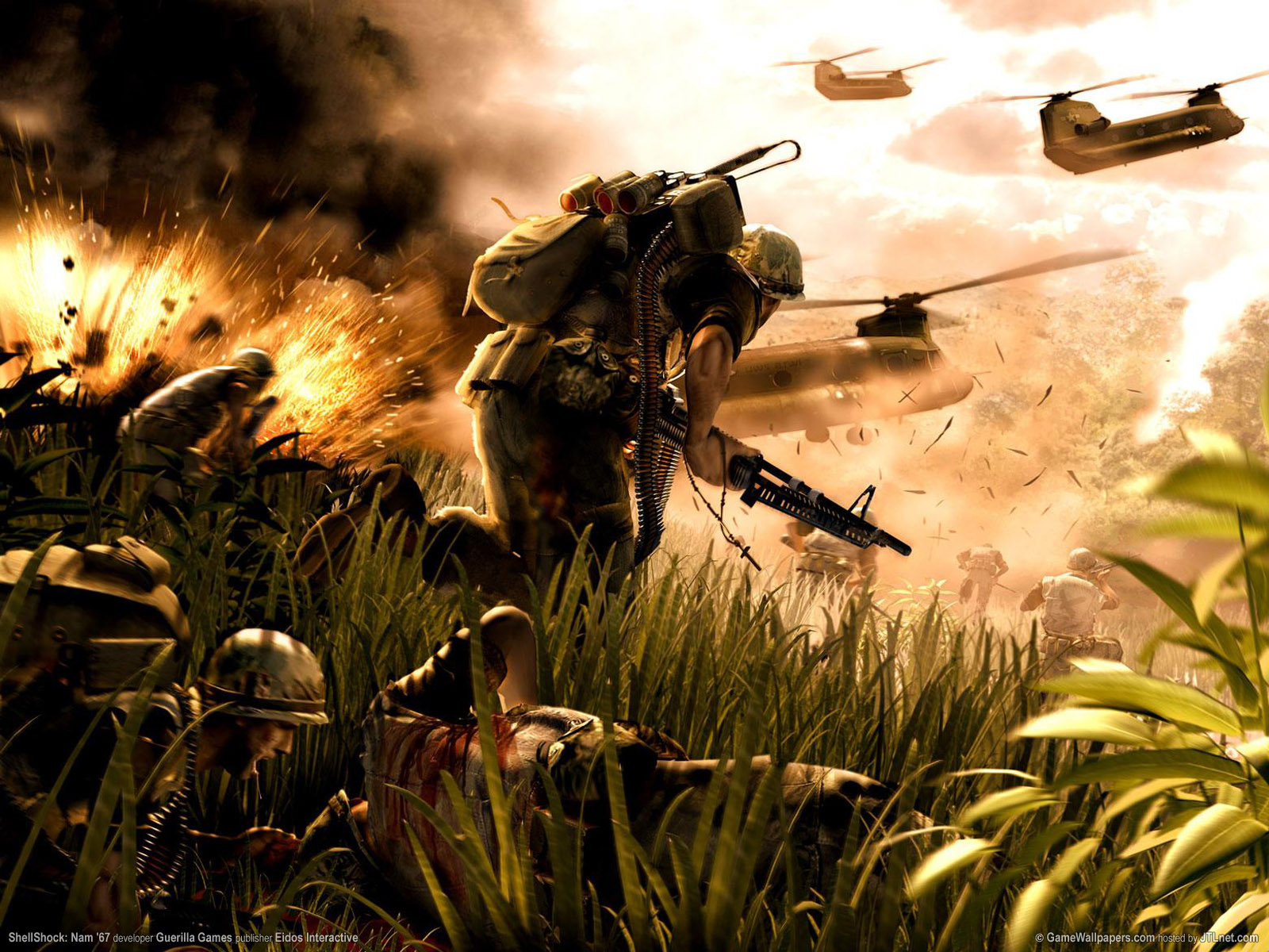 1600x1200 Shellshock: NAM desktop PC and Mac wallpaper