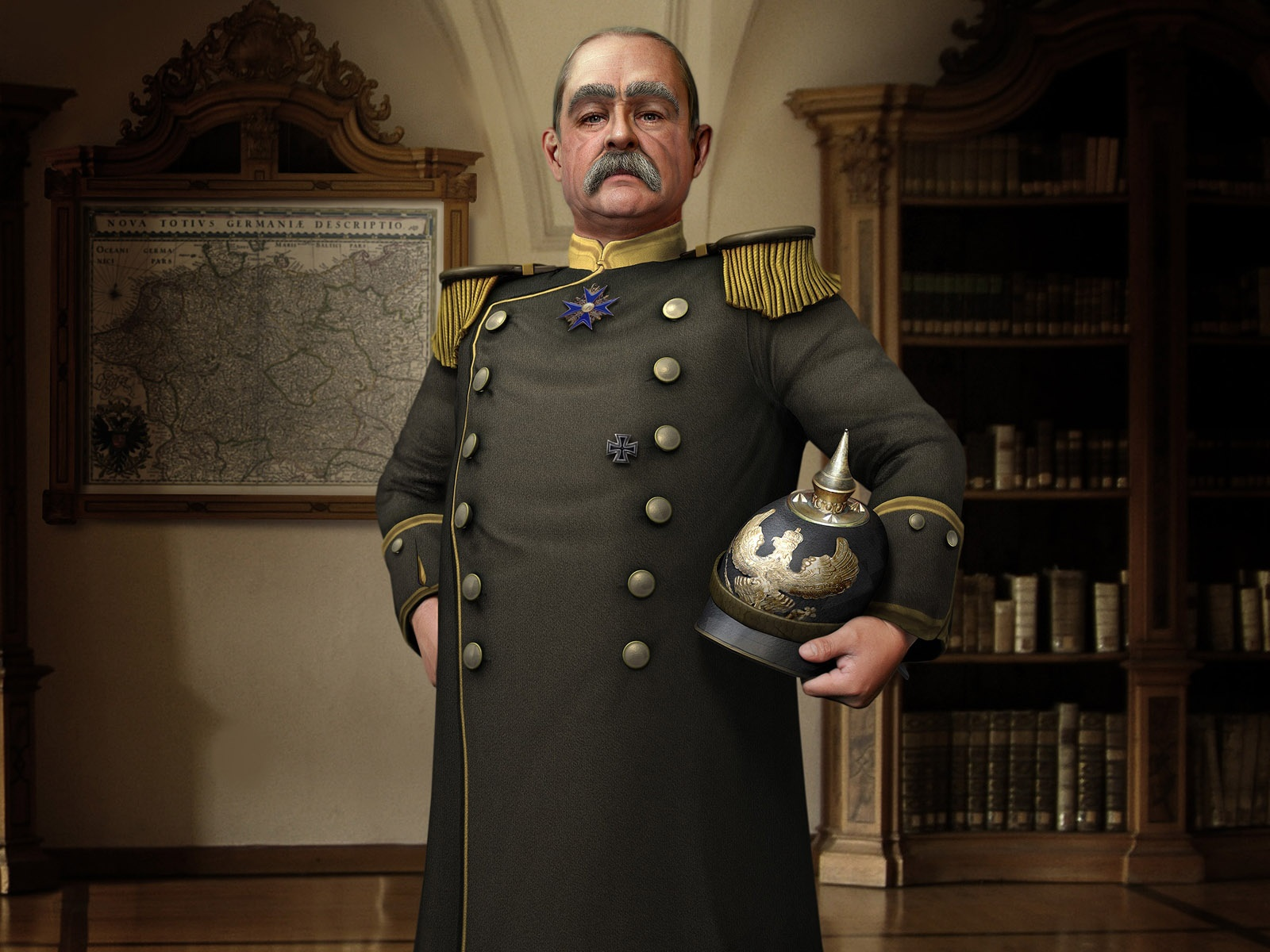 1500x500 Sid Meier's Civilization V Leaders, game, walls