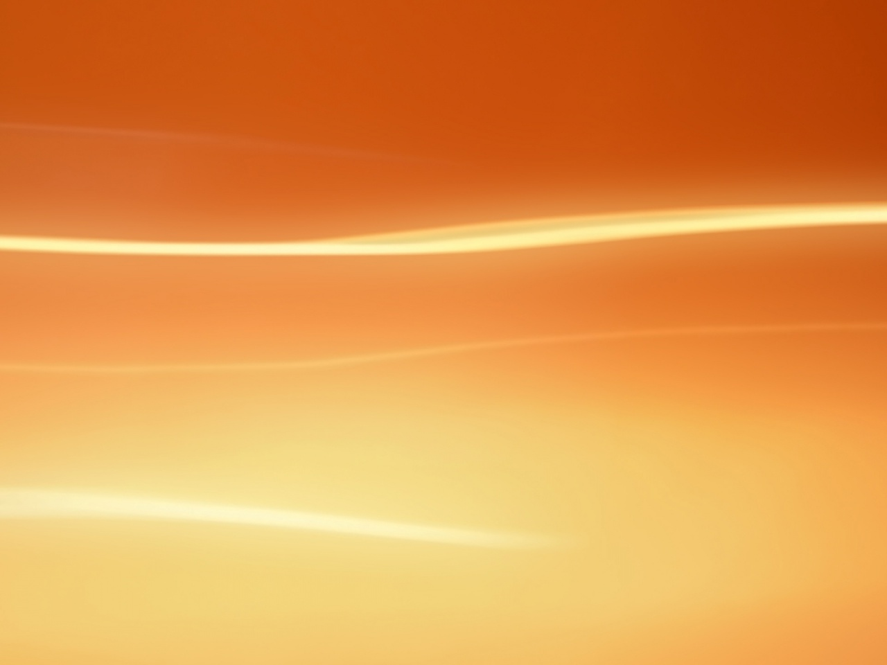 1280x960 Simple Clean Orange Background