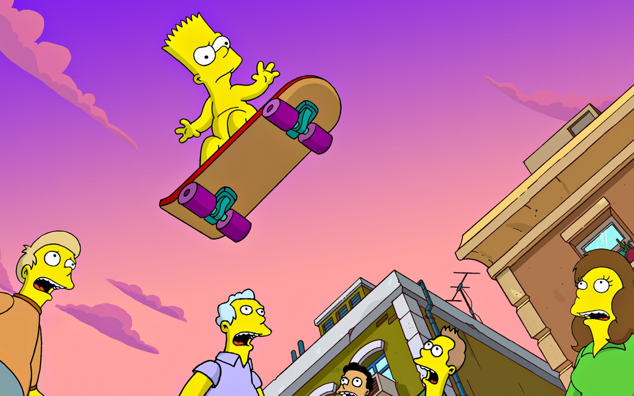 1280x800 Simpsons,  cartoons