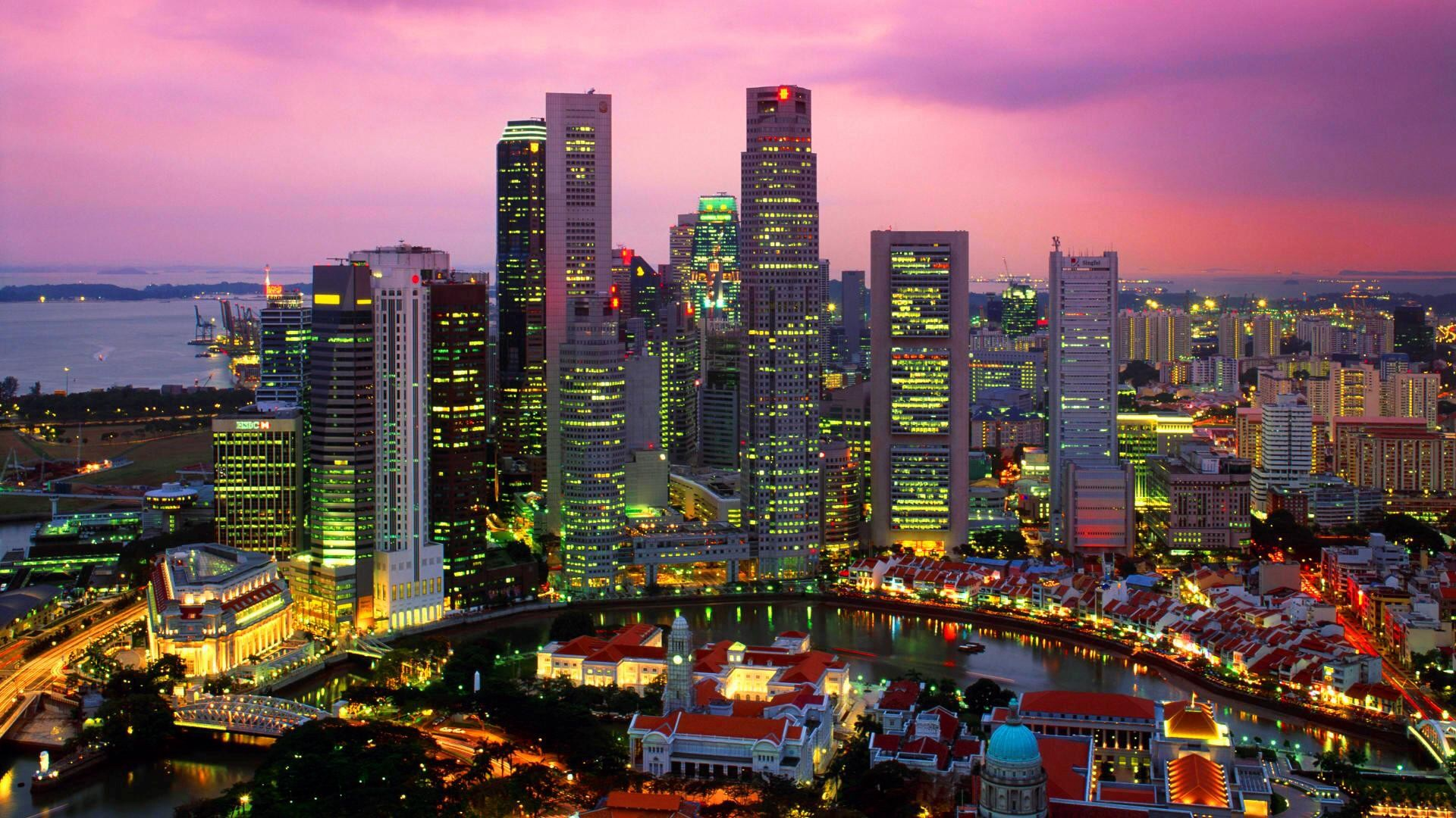 1920x1080 singapore cityscape desktop pc and mac wallpaper for Wallpaper home singapore
