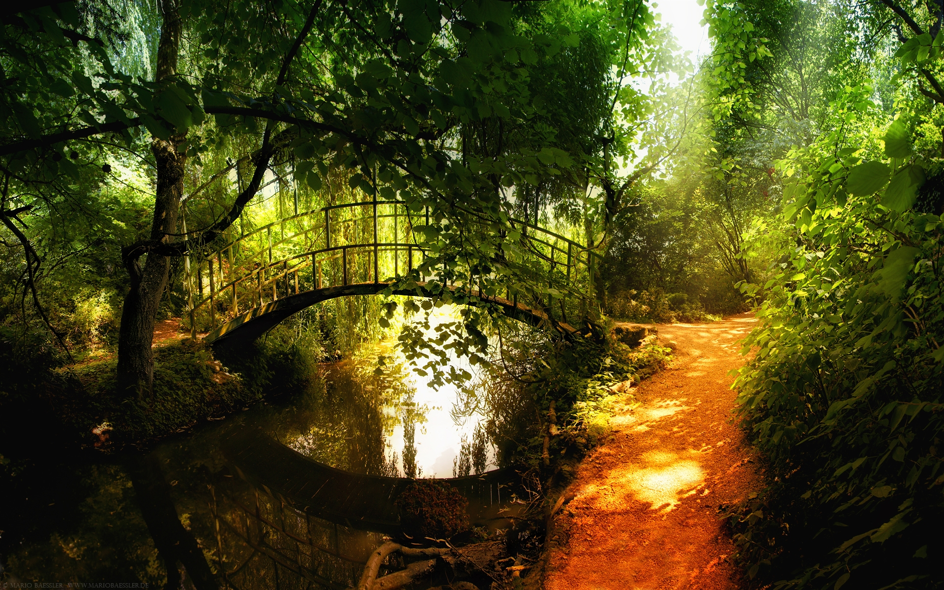 1920x1200 Small Bridge Desktop PC And Mac Wallpaper