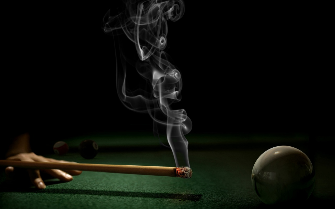 1280x800 Smoking pool