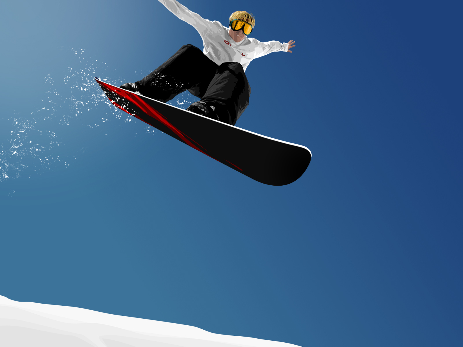 1600x1200 Snowboard jump desktop wallpapers and stock photos