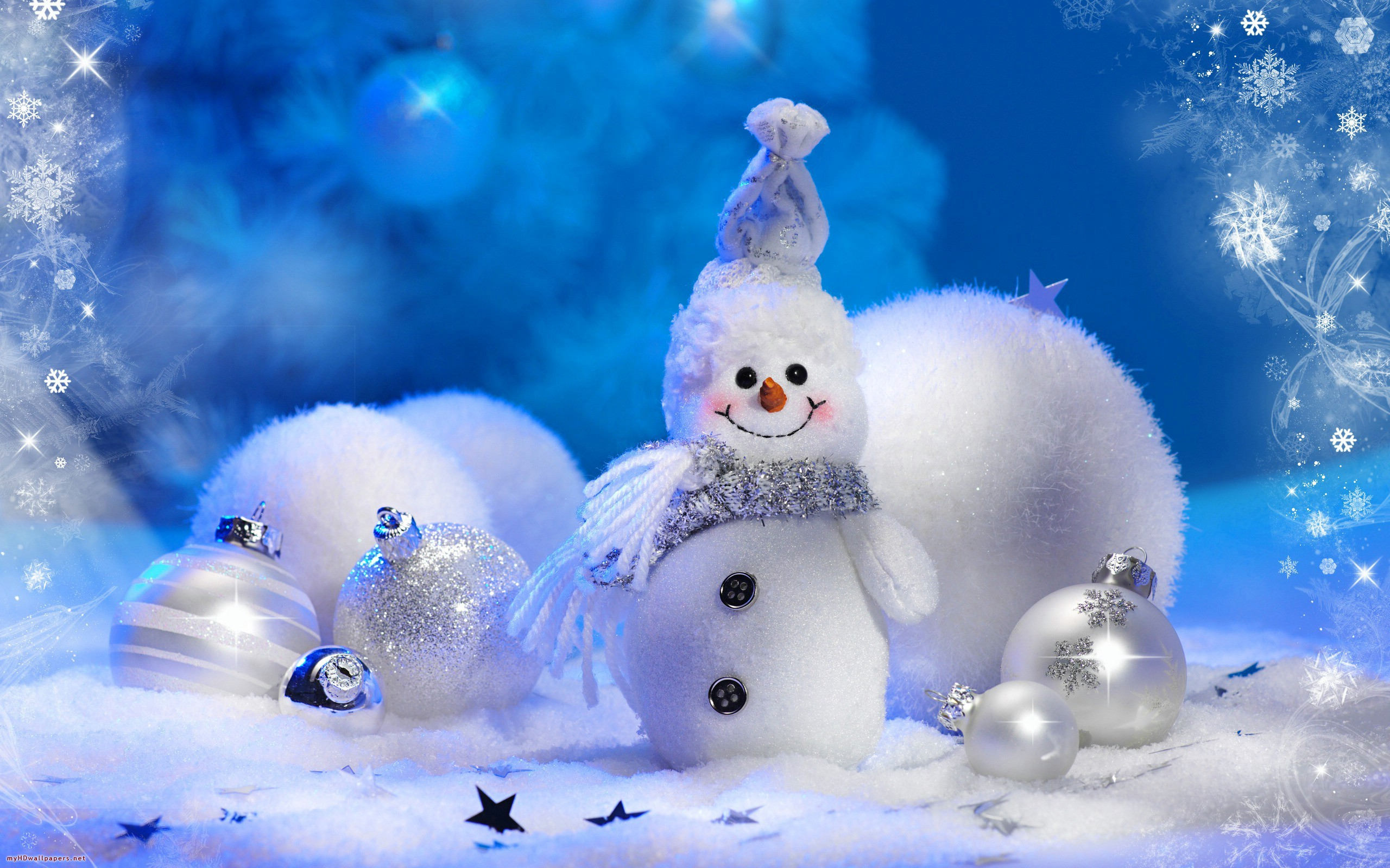Image Snowman New Year Holiday Wallpapers And Stock Photos