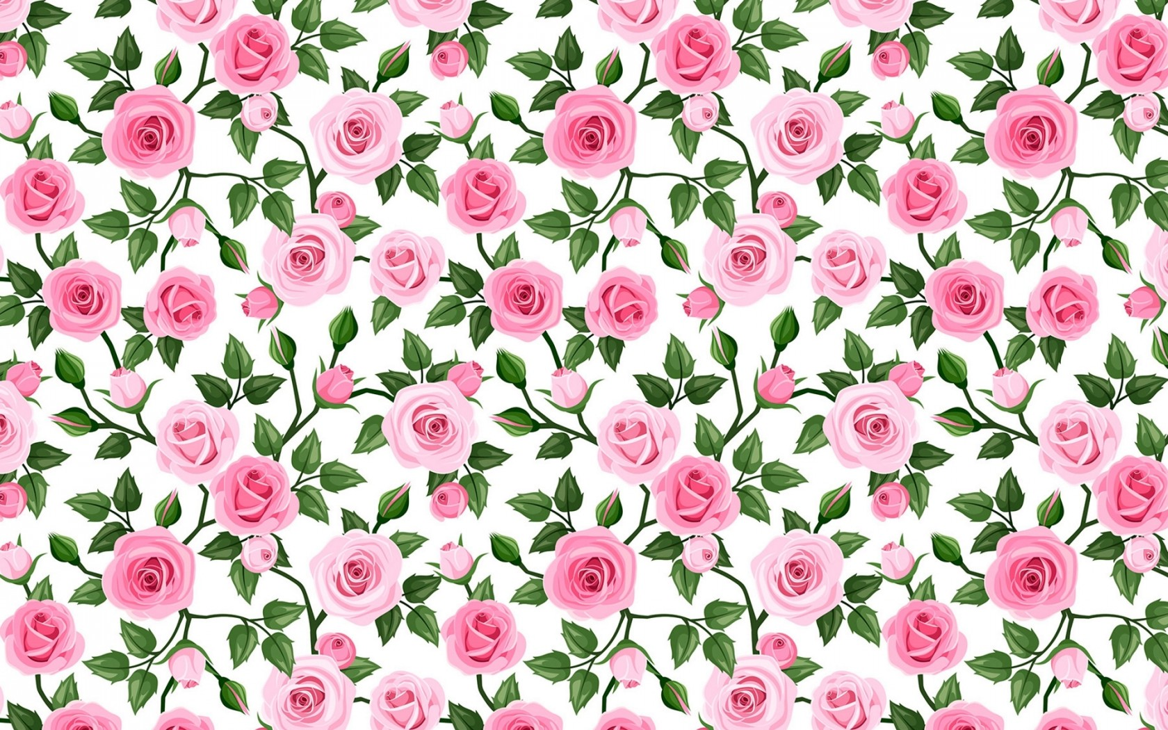 Image Soft Pink Roses Pattern Wallpapers And Stock Photos
