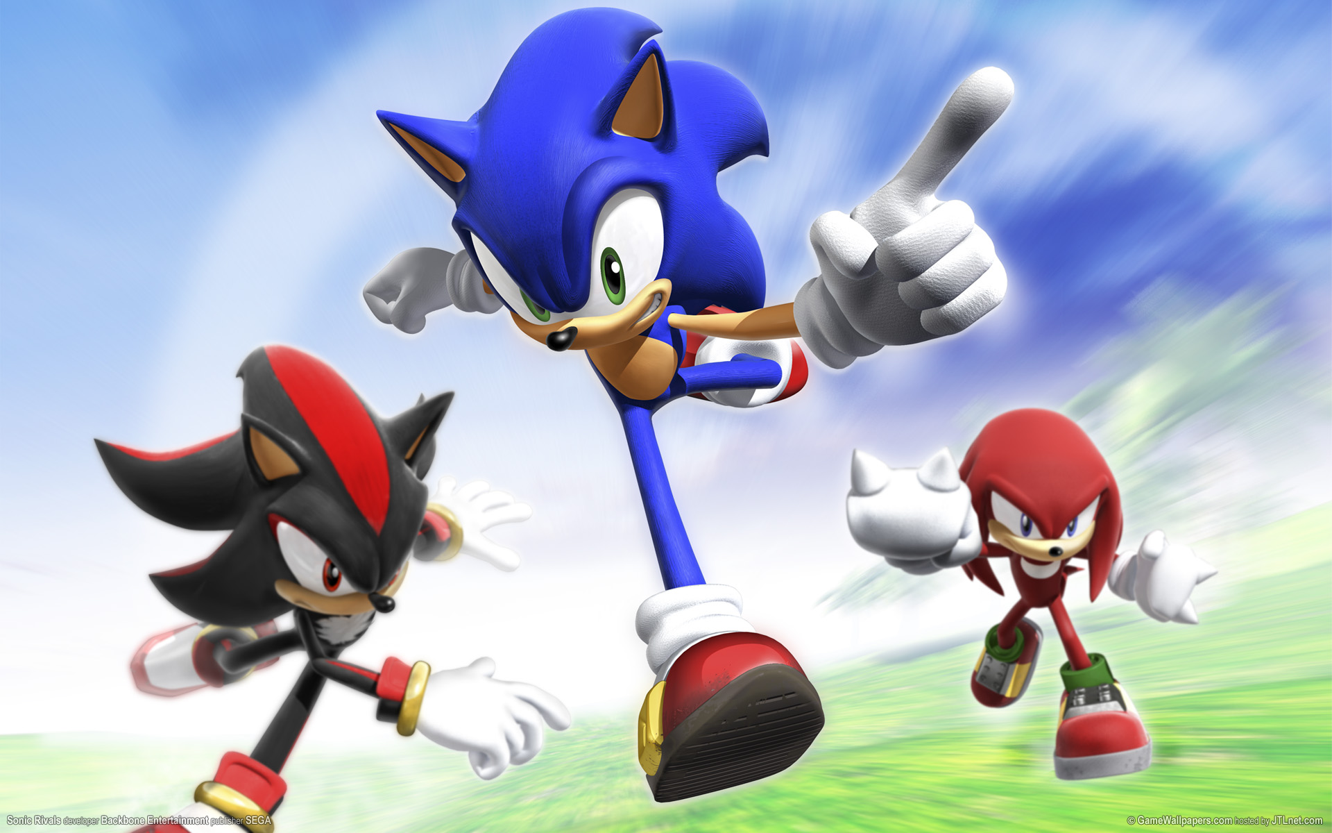 Sonic Rivals Races Onto PSP This Fall | WIRED