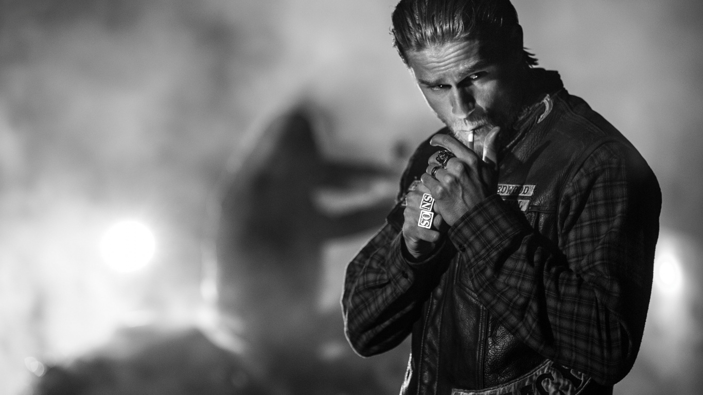 1366x768 Sons of Anarchy Charlie Hunnam