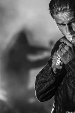 320x480 Sons of Anarchy Charlie Hunnam