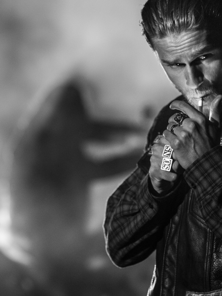 768x1024 Sons of Anarchy Charlie Hunnam