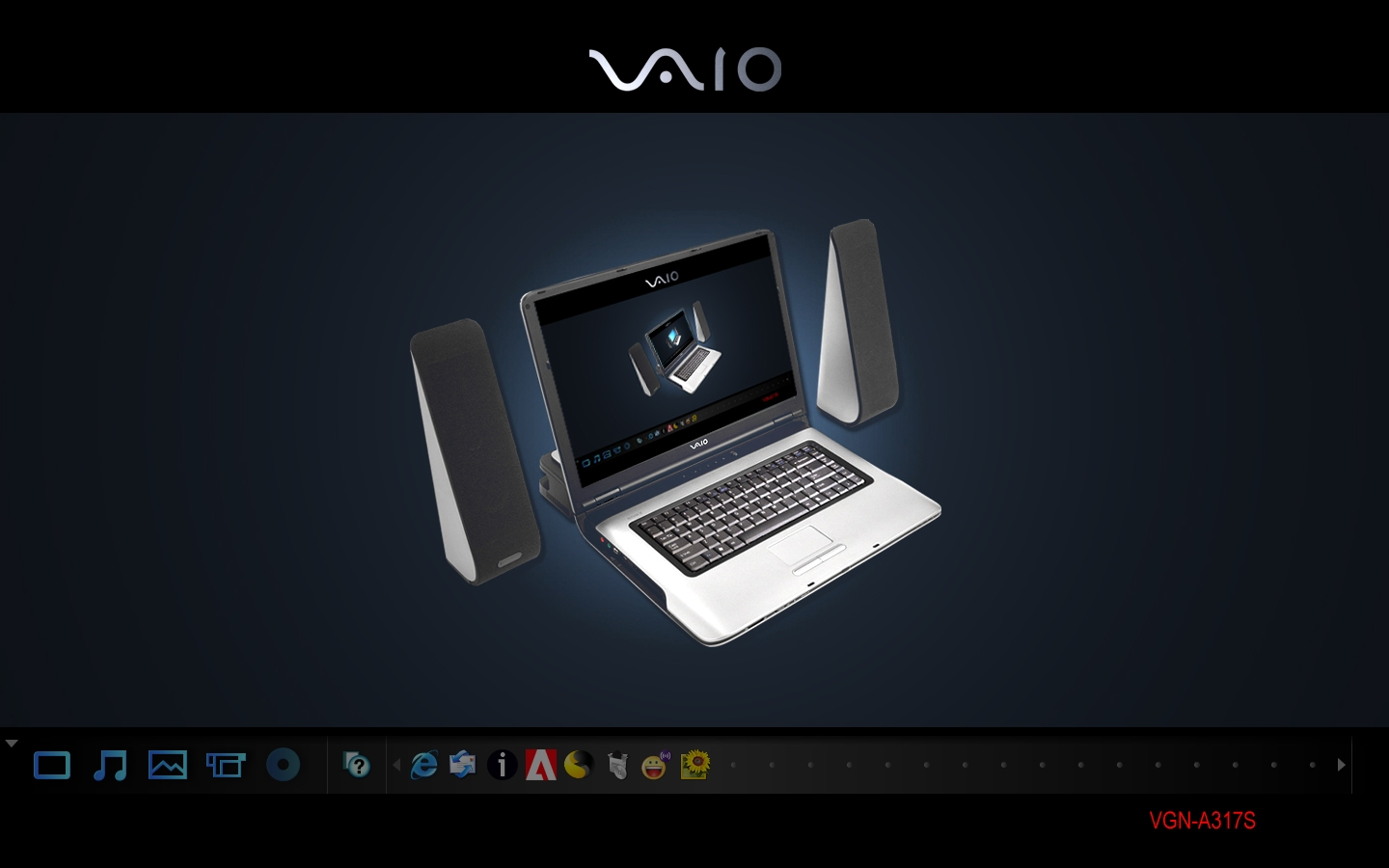 Vaio Wall Paper Black: SONY Vaio VGN Stock Photos