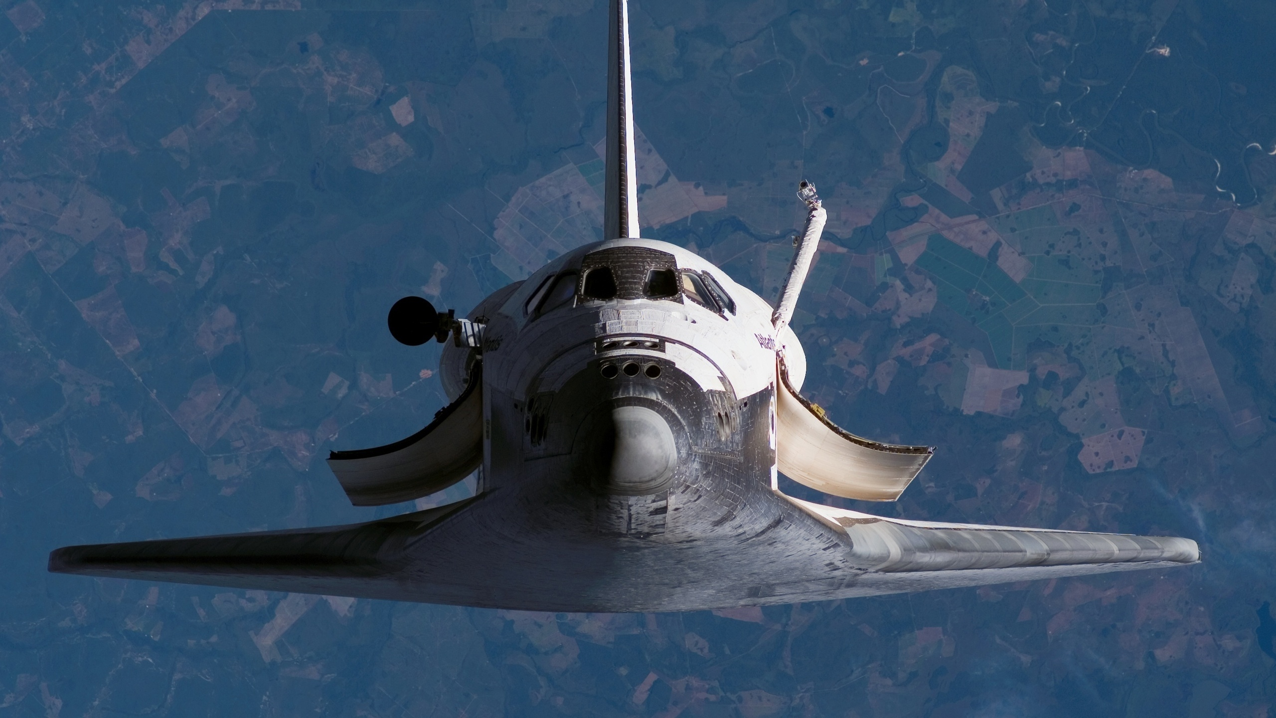 hd space shuttle in space-#2