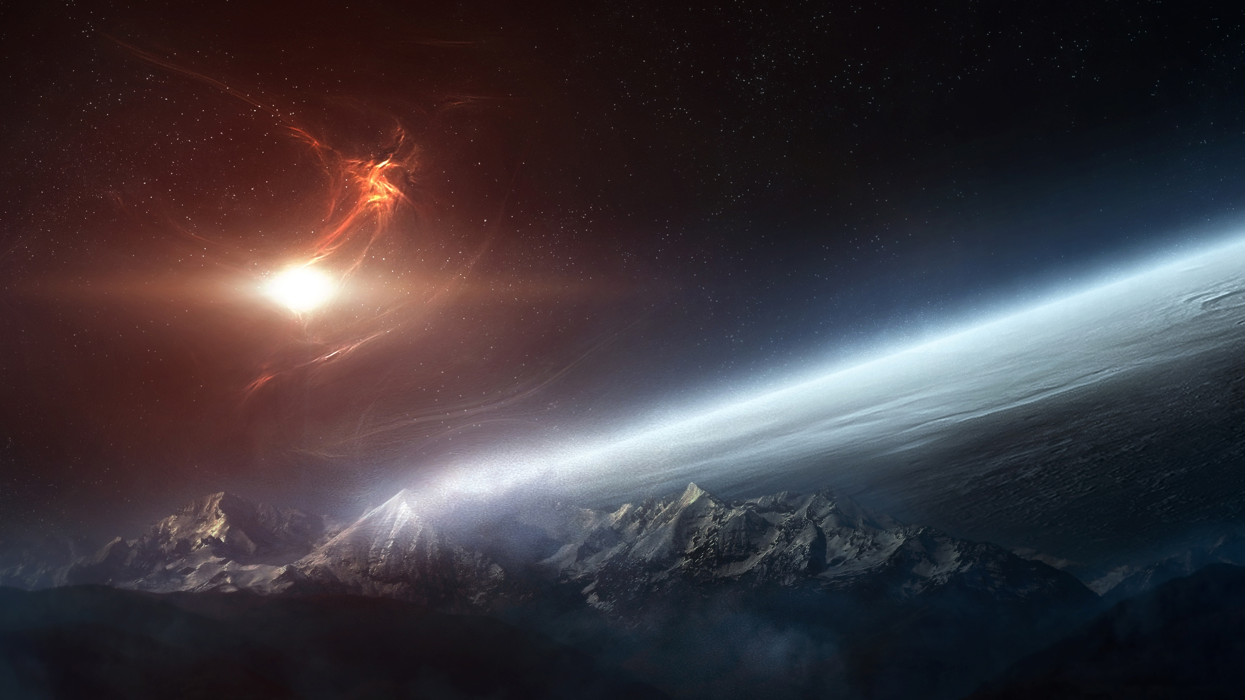 Download Ipad Space Wallpaper Hd Gallery: 2560x1440 Space Desktop PC And Mac Wallpaper