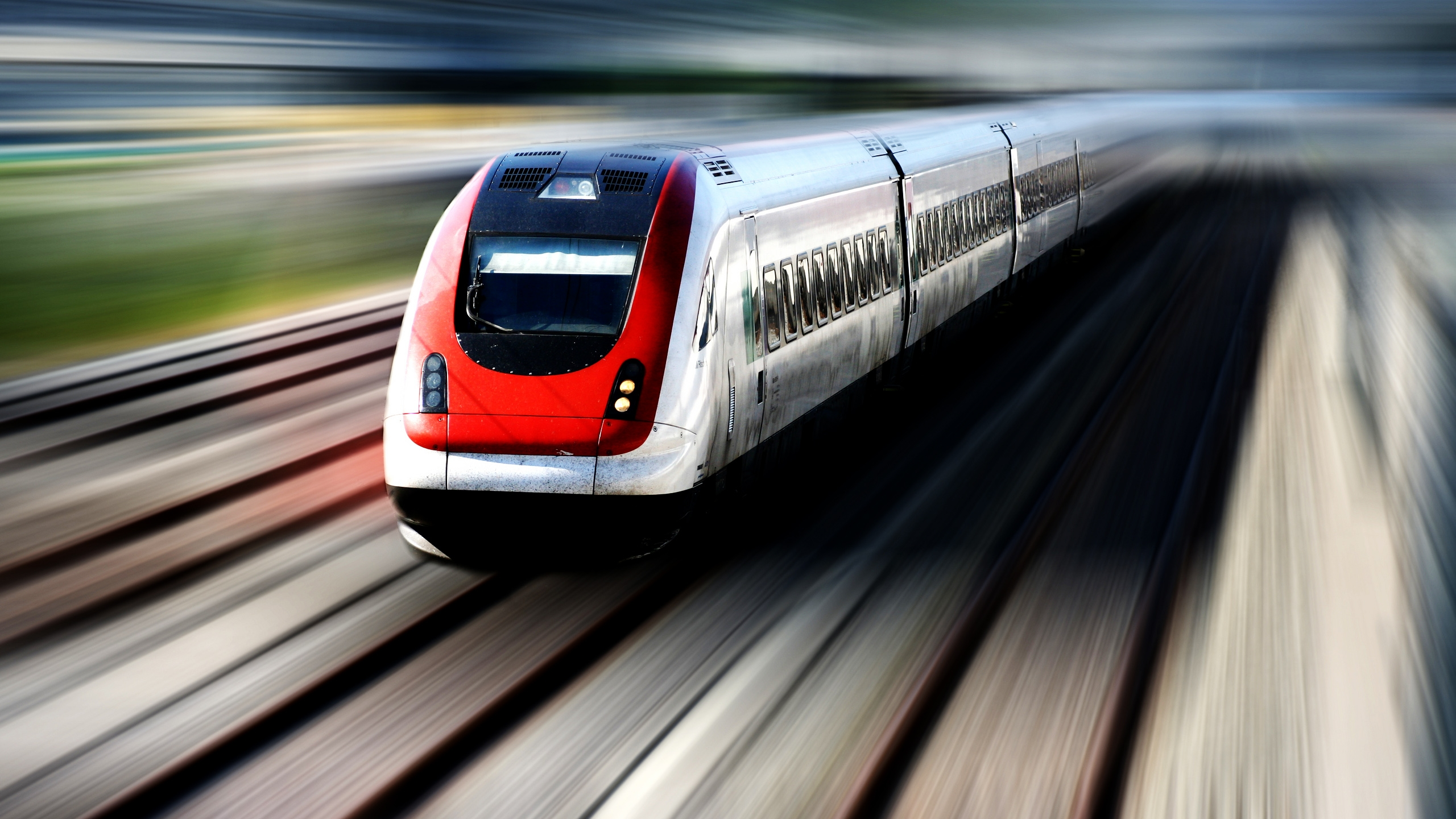 2560x1440 Speed Train