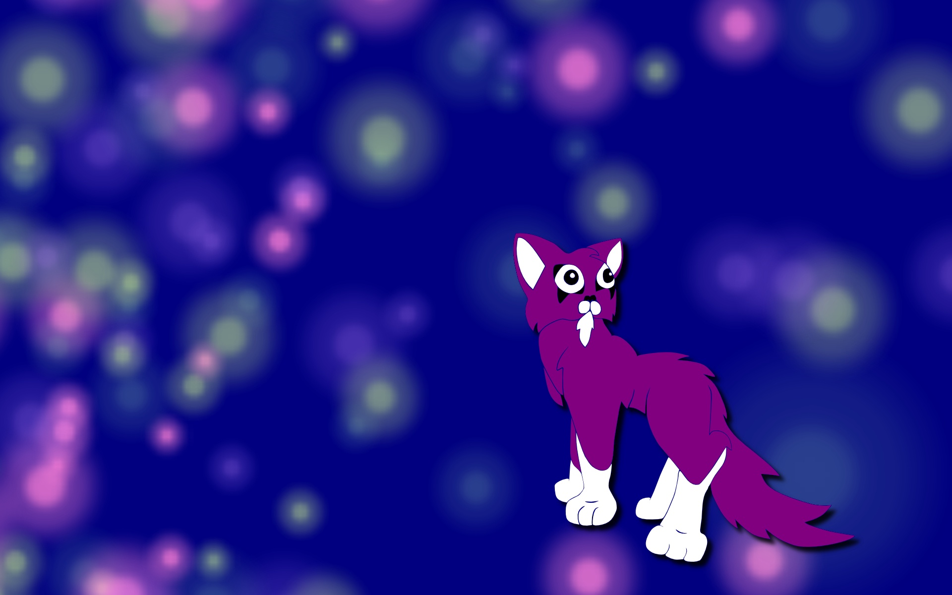 1920x1200 Spiked Cat (blue)