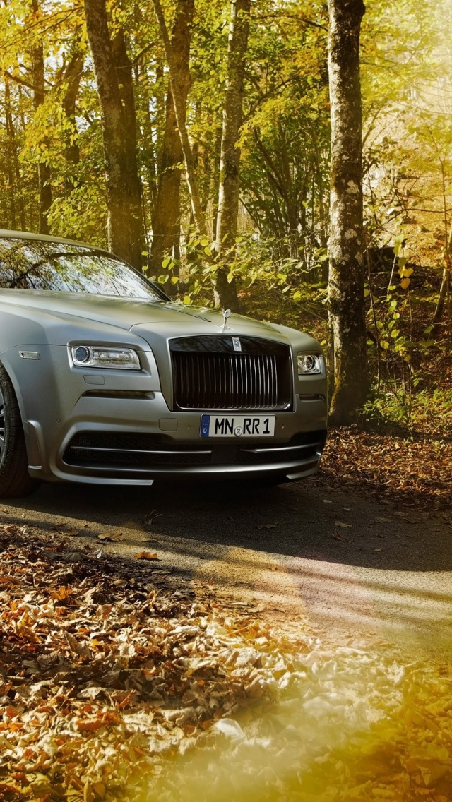 640x1136 Spofec Rolls Royce Wraith Iphone 5 Wallpaper