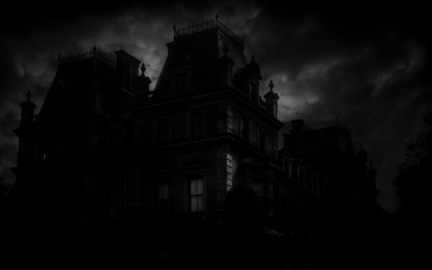 Wallpaperstock net spooky mansion wallpapers 34718 1440x900 1 html