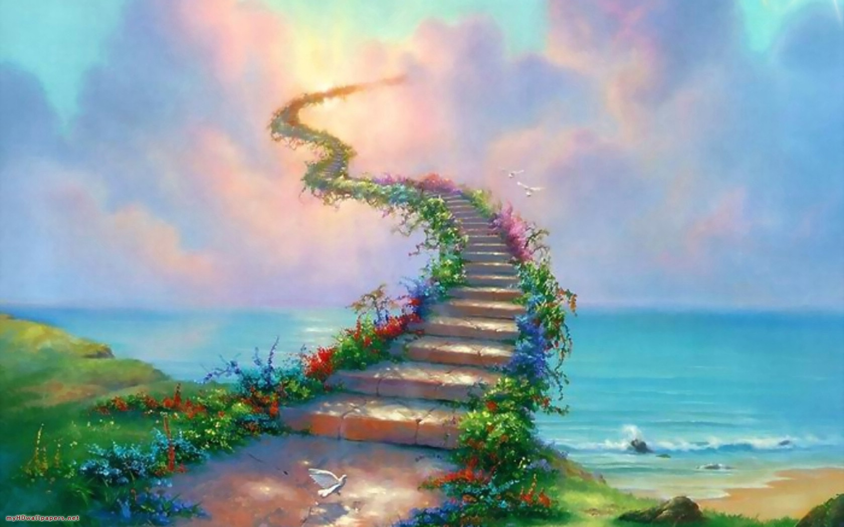 Stairway To Heaven Wallpapers Stairway To Heaven Stock