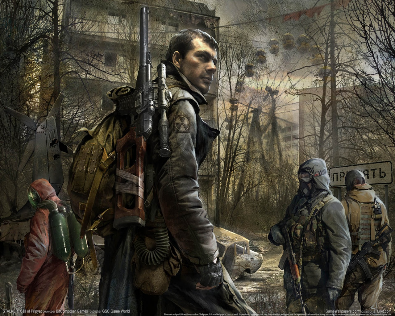 1280x1024 Stalker: Call of Pripyat desktop PC and Mac wallpaper