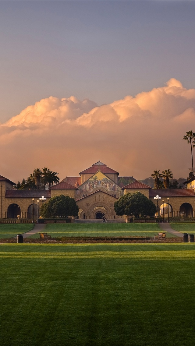 640x1136 stanford university iphone 5 wallpaper