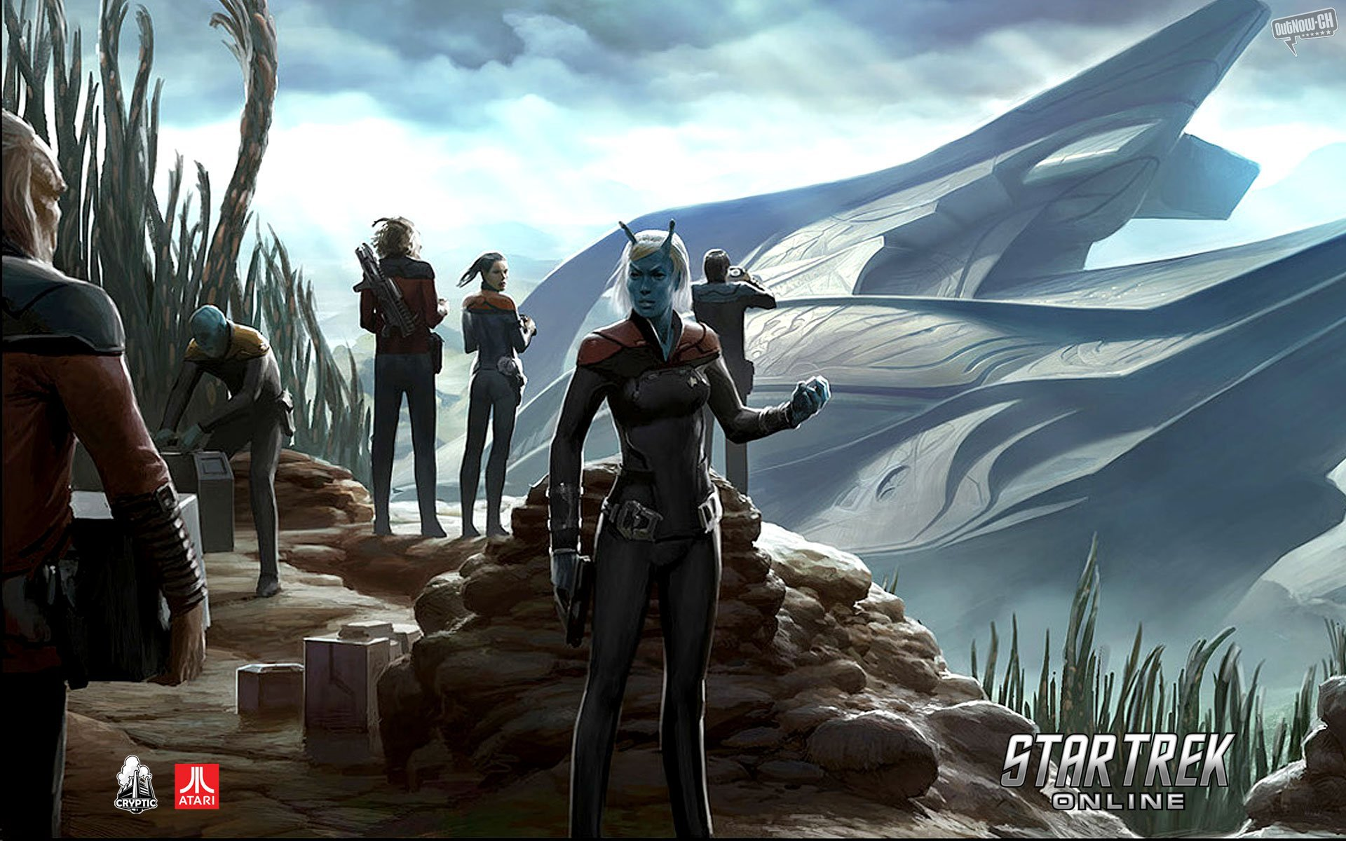 Star Trek Online HD Wallpapers and Backgrounds