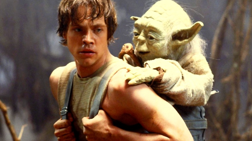 852x480 Star Wars: Yoda and Luke