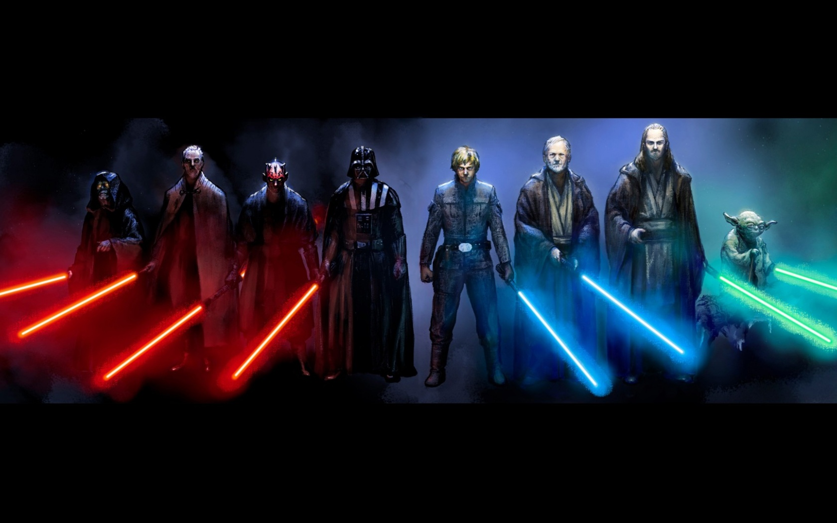 1680x1050 star wars sith and jedi desktop pc and mac wallpaper
