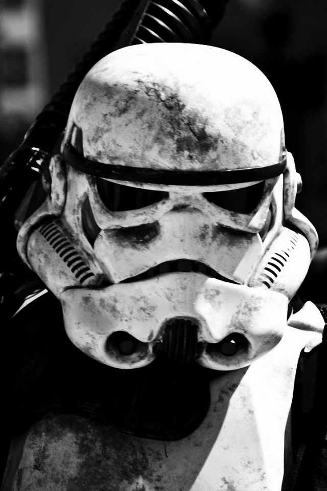 640x960 star wars stormtrooper close up iphone 4 wallpaper
