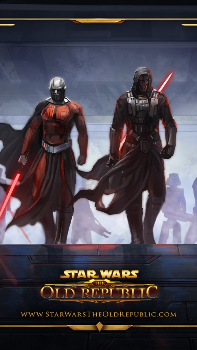 640x1136 Star Wars The Old Republic Swtor Timeline Galactic Iphone 5 Wallpaper