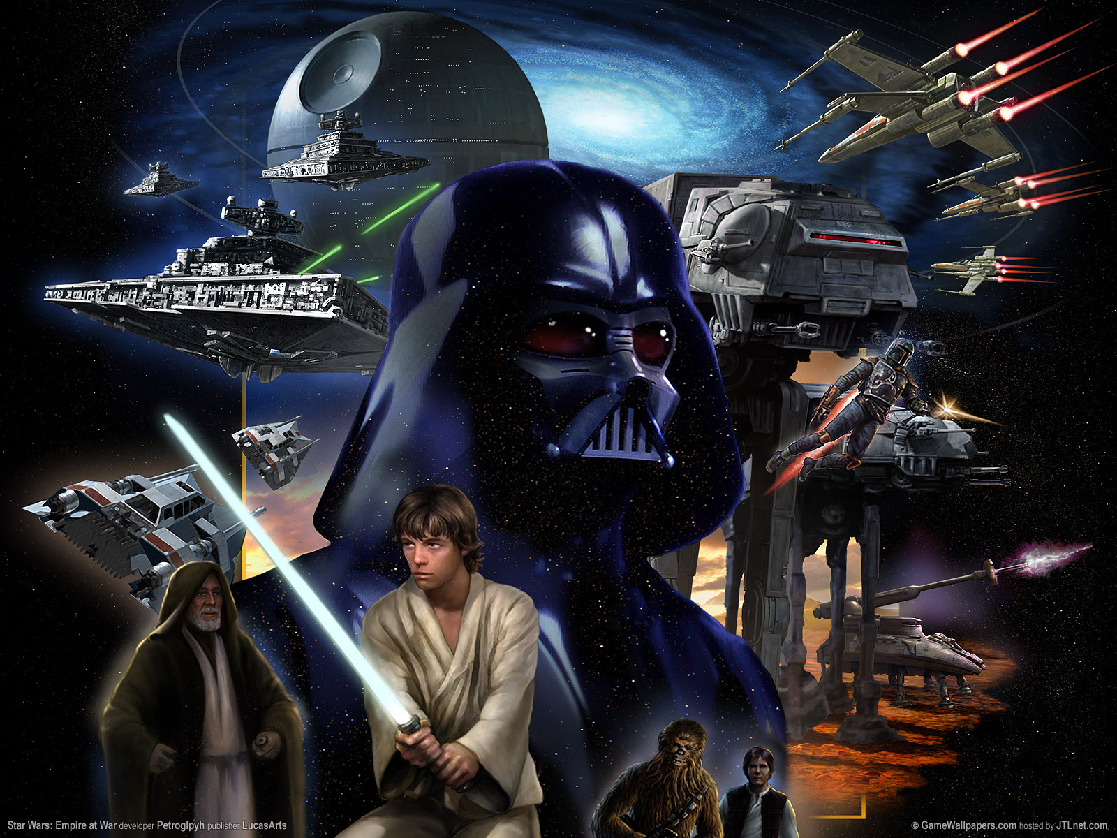 1600x1200 Star Wars: Empire at War desktop PC and Mac wallpaper