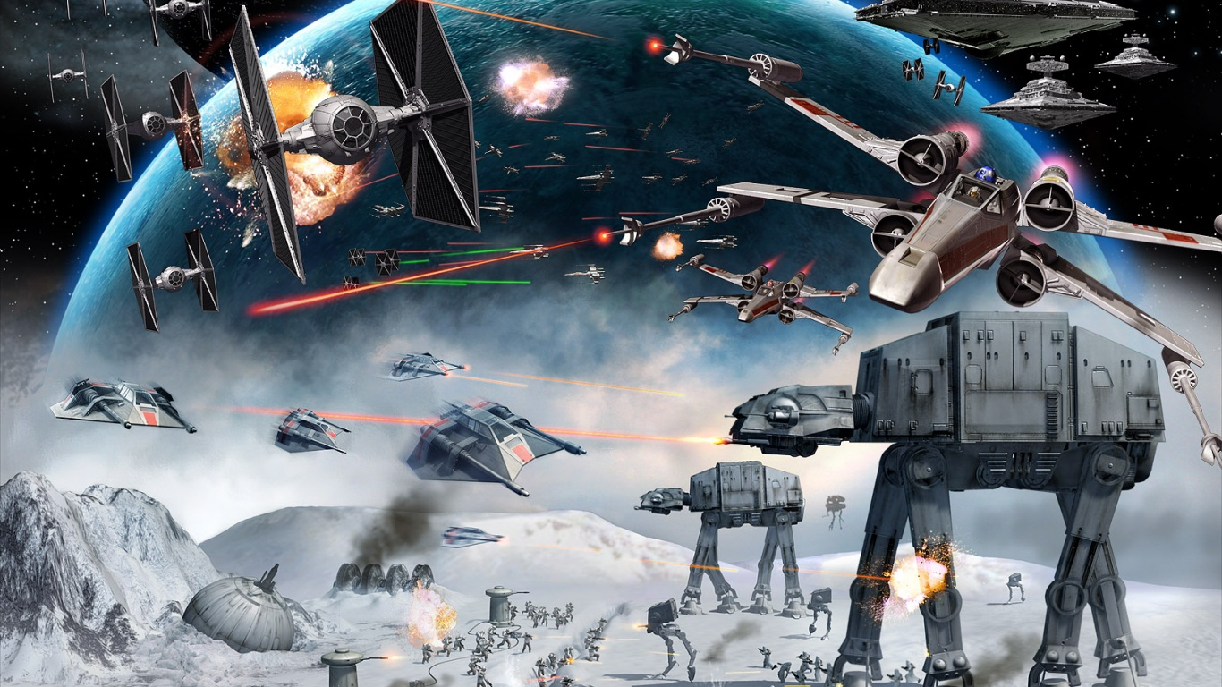 1366x768 star wars empire at war desktop pc and mac wallpaper