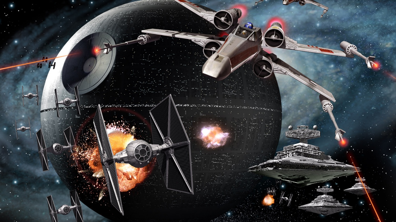 1366x768 star wars: empire at war desktop pc and mac wallpaper