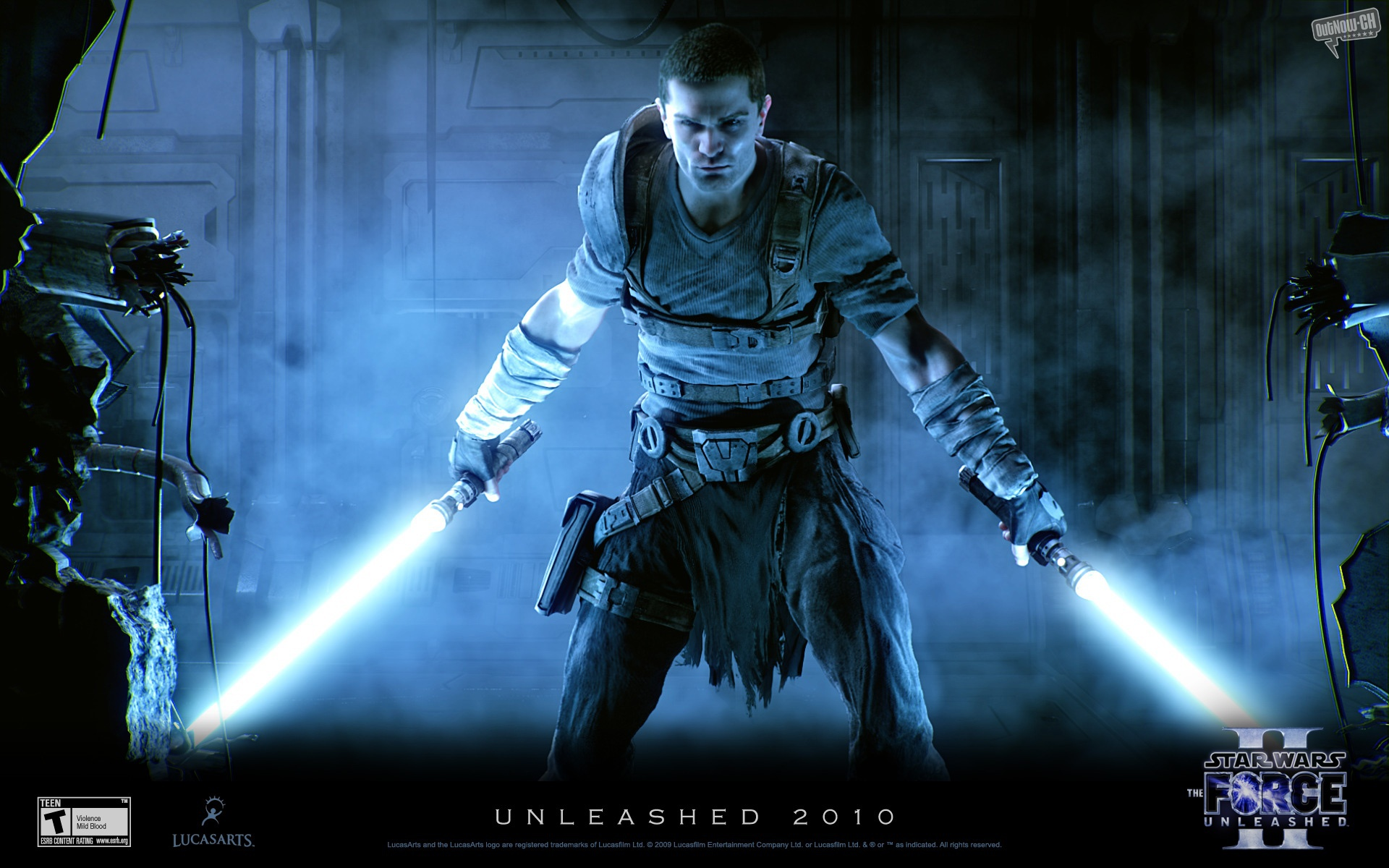 1920x1200 star wars force unleashed 2 desktop pc and mac wallpaper