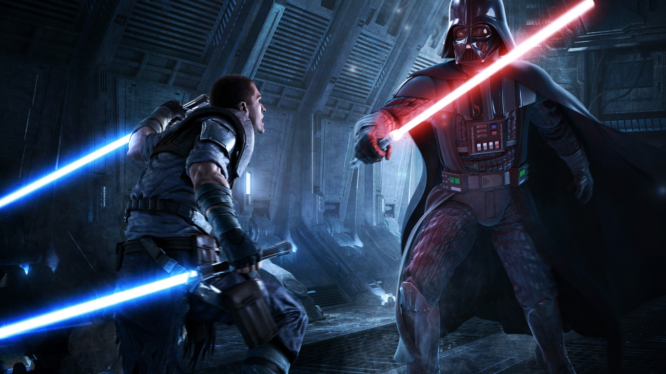 1366x768 star wars: force unleashed 2 desktop pc and mac wallpaper