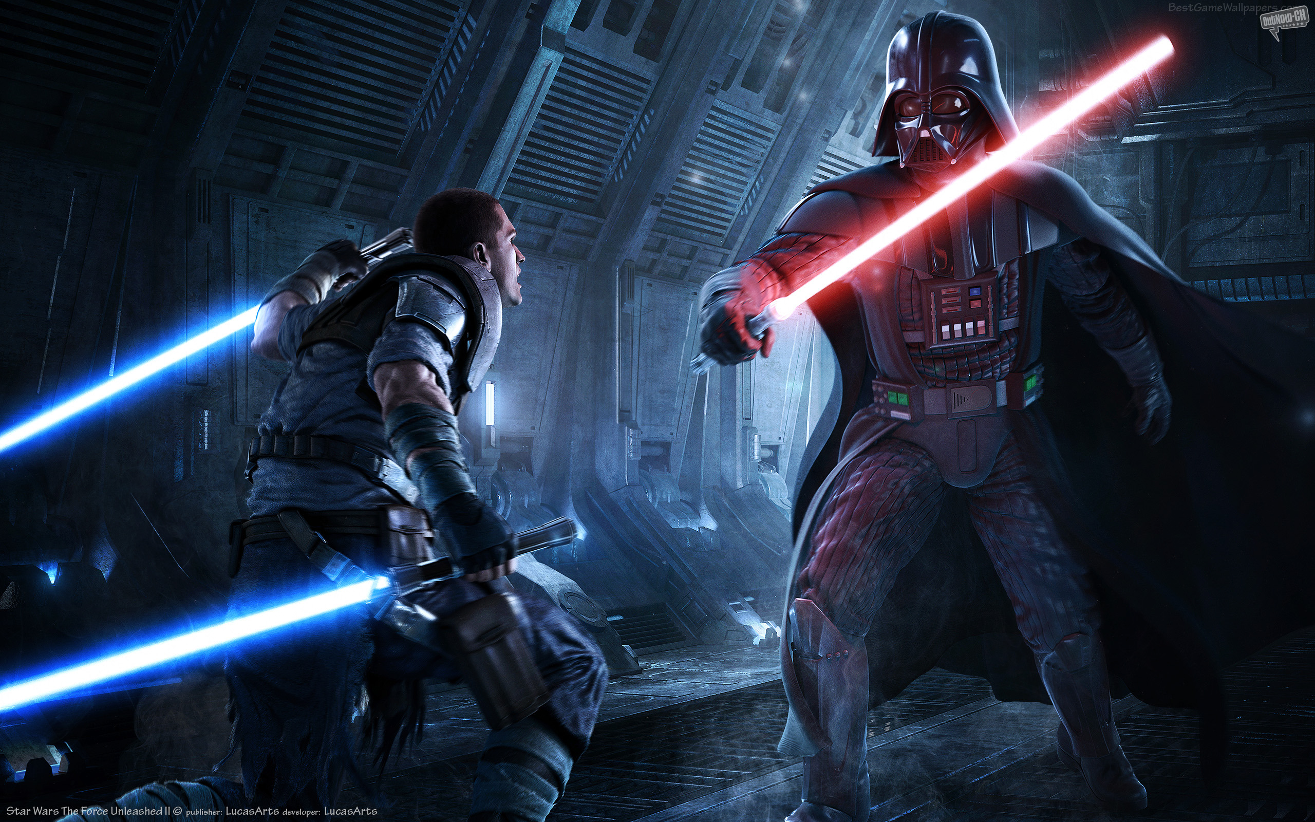 2560x1440 Star Wars: Force Unleashed 2 YouTube Channel Cover