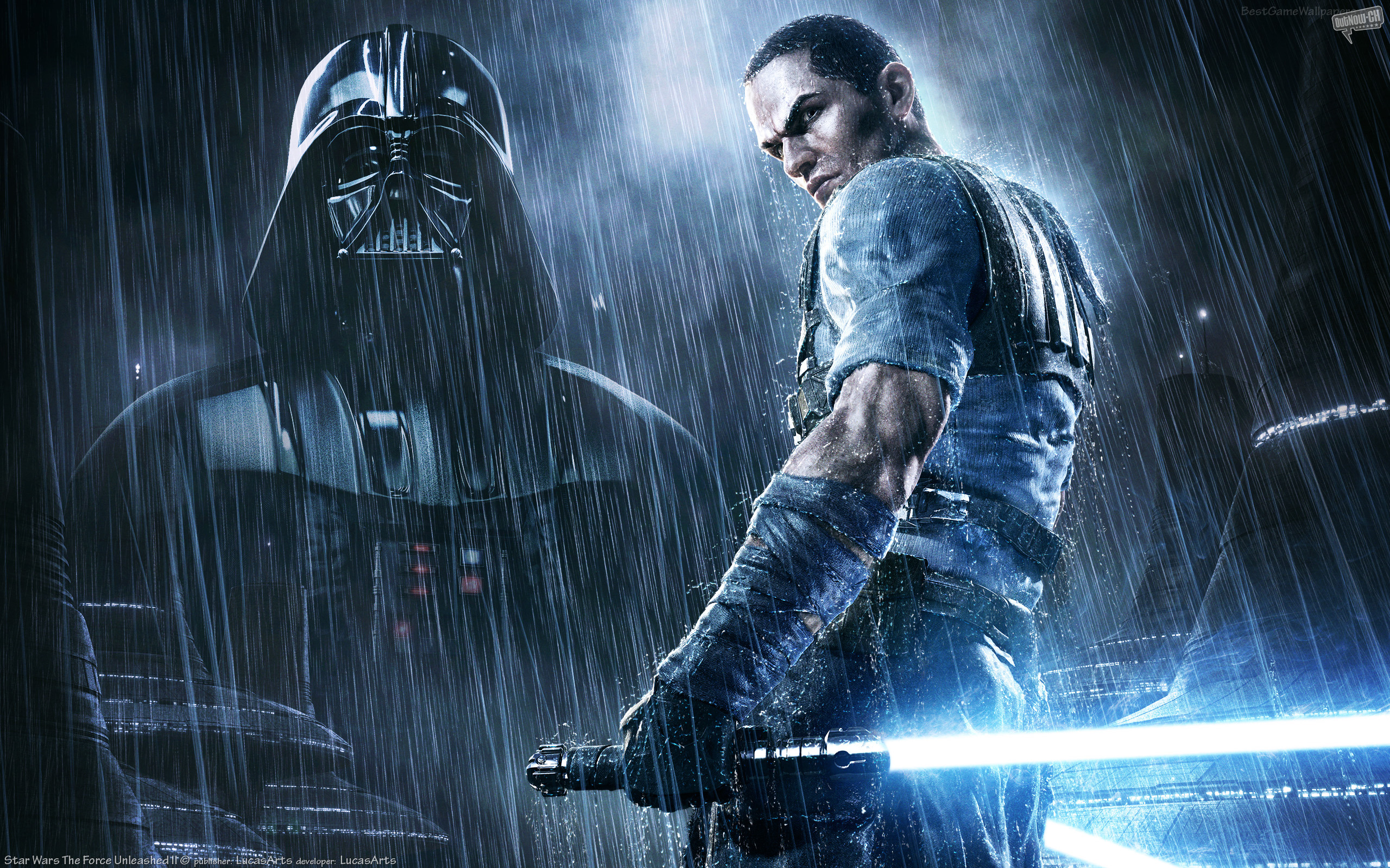 2560x1440 Star Wars Force Unleashed 2 Youtube Channel Cover